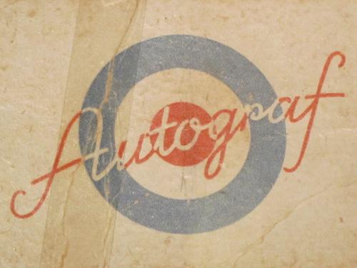 Dansk ArbejderMuseet - Autograf booklet typography.