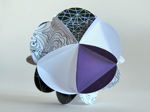 The Fullitzer Prize: a combination of the Pulitzer and Buckminster Fuller, rolled into a geodesic paper ball.