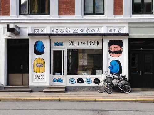 Artwork on my office space in Copenhagen.