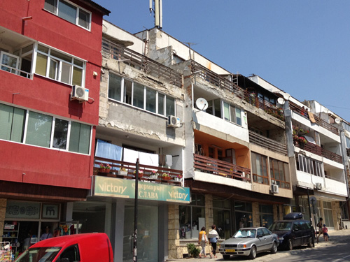 Apartments in Balchik, Bulgaria.