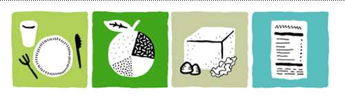 Four resource icons for the Well Vegan homepage.