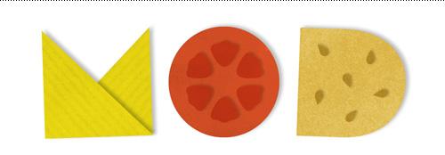 Mod Burger typography.