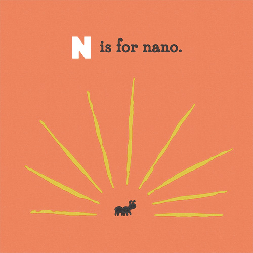 N is for Nano: a very little ant.