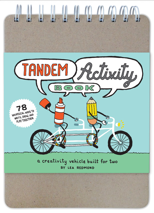 Tandem Activity Book - cover with sleeve.