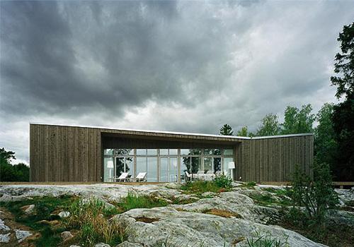 Claesson Koivisto Rune - folded roof house.