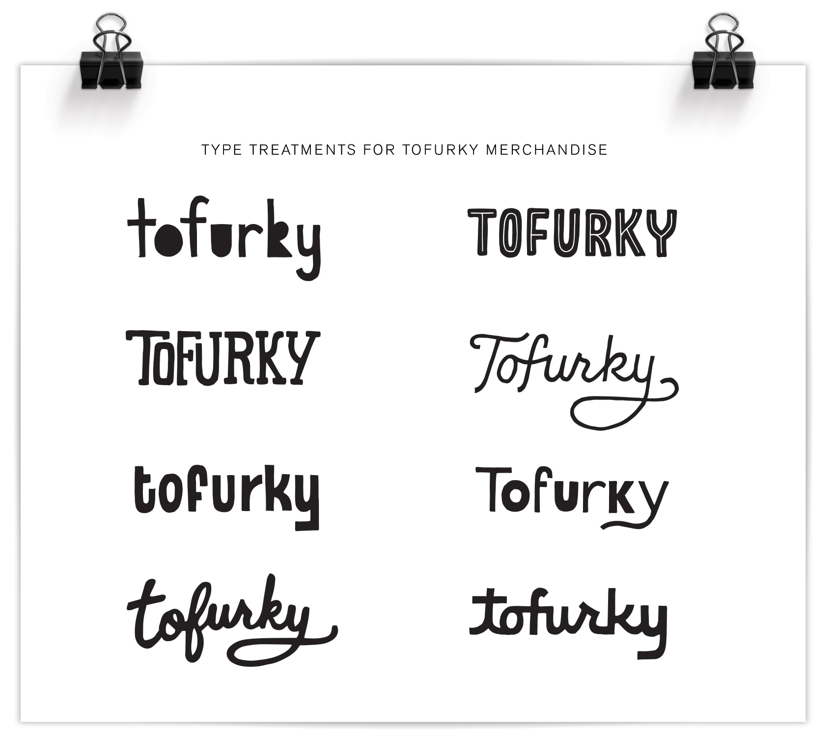 Tofurky-merchandise-type-treatments