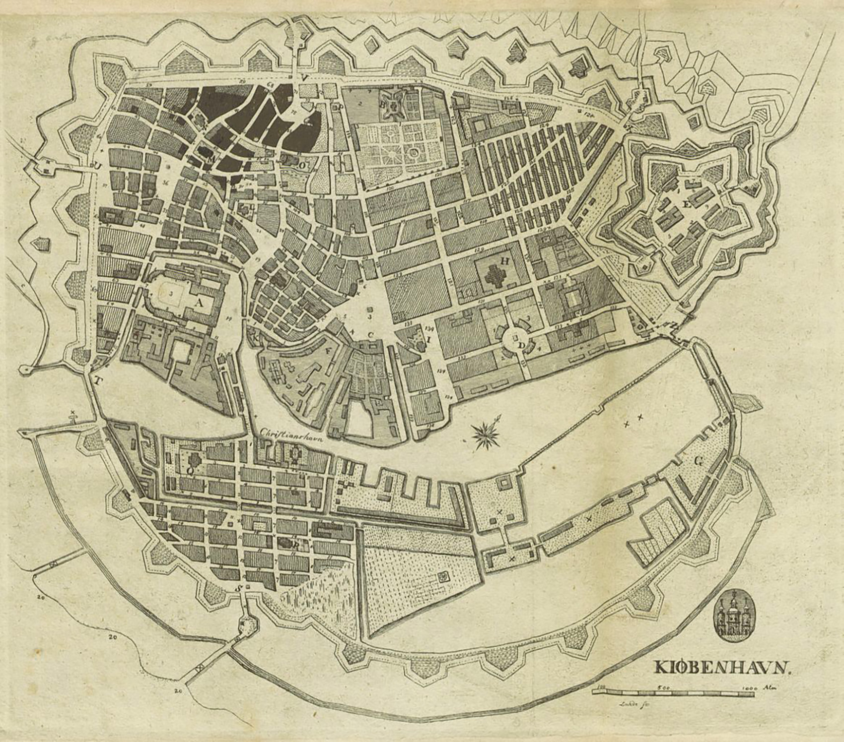 old-copenhagen-map
