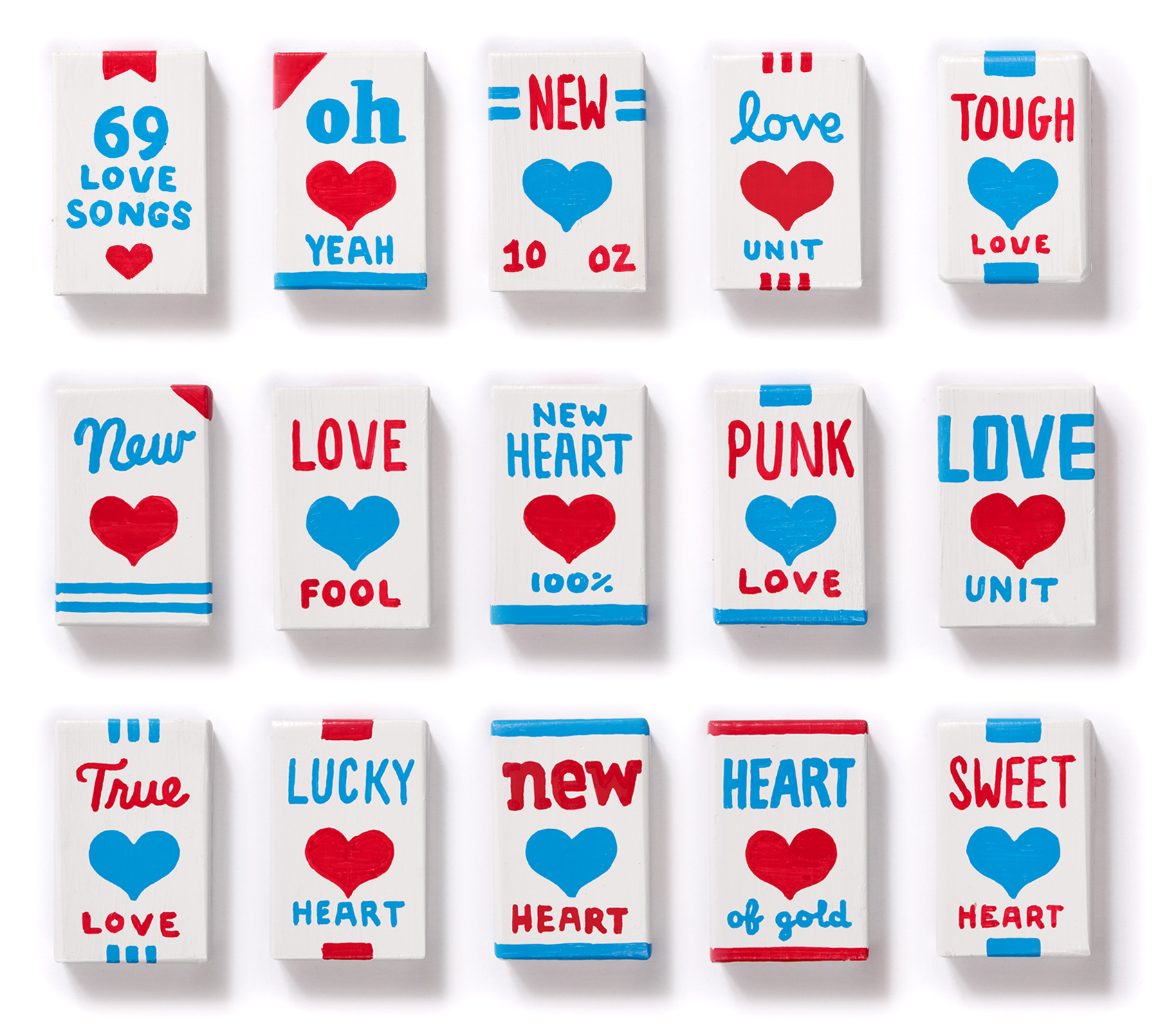 """Magnetic Fields """"I think I need a new heart"""" new heart packages - fronts, batch 1"""