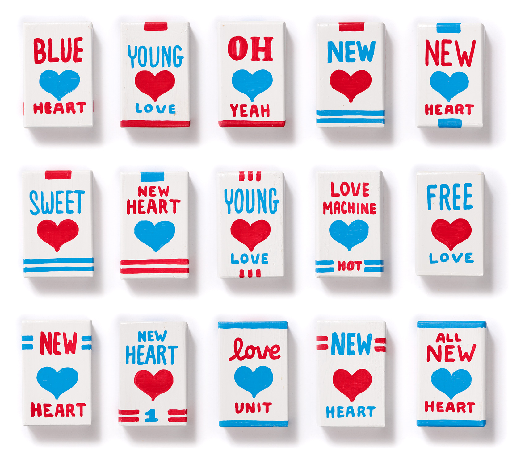"""Magnetic Fields """"I think I need a new heart"""" new heart packages - fronts, batch 3"""