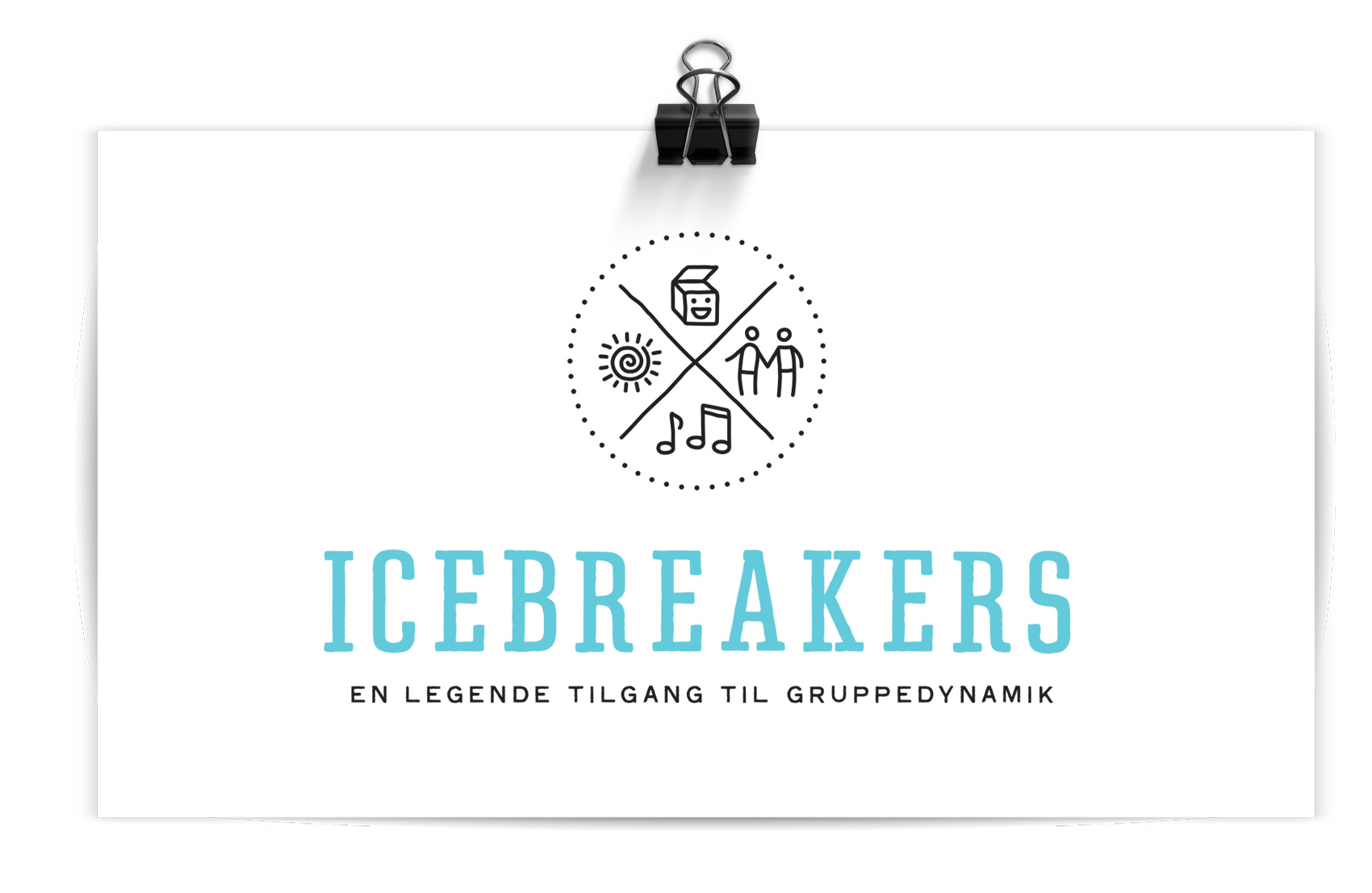 ICEBREAKERS - icons for the four types of activities
